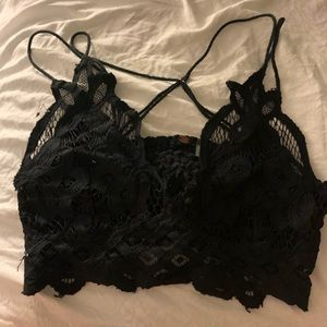 Black free people bralette